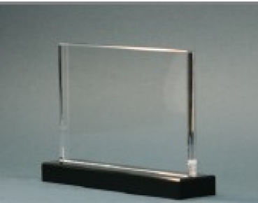 Flatglass with socle